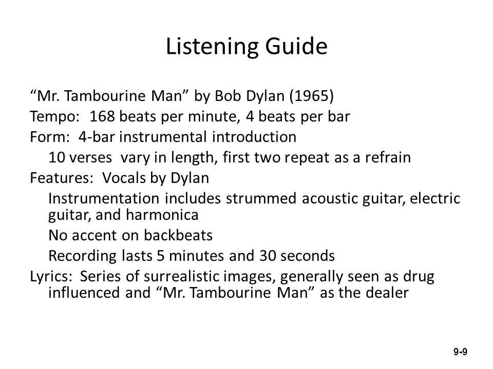 Listening Guide Mr.