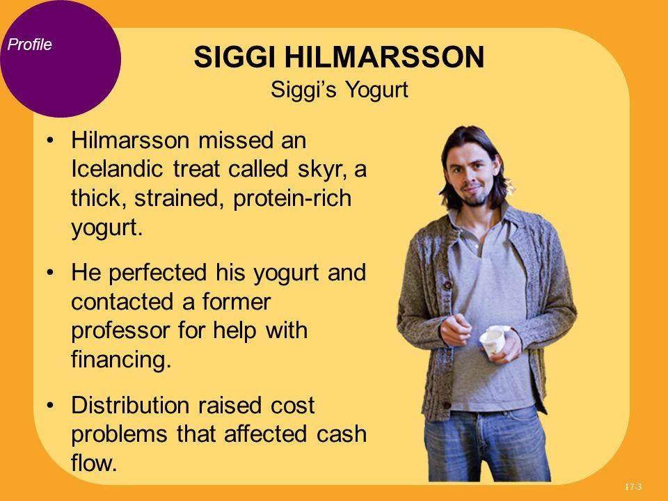 Hilmarsson missed an Icelandic treat called skyr, a thick, strained, protein-rich yogurt.