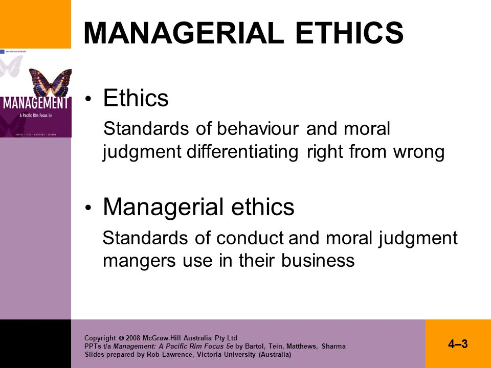 Copyright 2008 McGraw-Hill Australia Pty Ltd PPTs t/a Management: A Pacific Rim Focus 5e by Bartol, Tein, Matthews, Sharma Slides prepared by Rob Lawr
