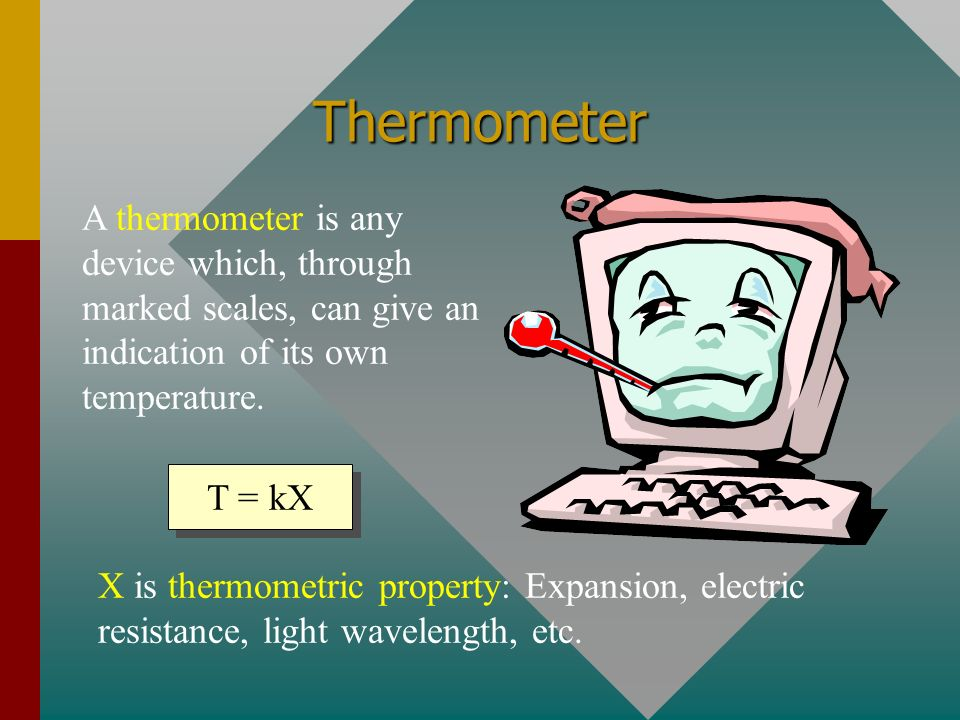 Summary Thermal energy is the total internal energy of an object: the sum of its molecular kinetic and potential energies.
