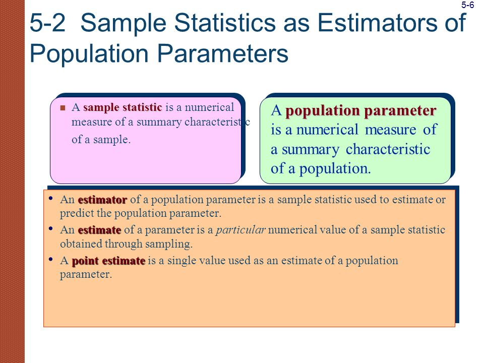 Comparing the population distribution and the sampling distribution of the mean: The sampling distribution is more bell- shaped and symmetric.