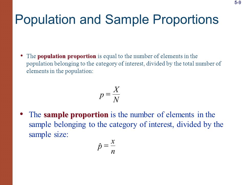 XXXX XXXXXX XXXX XXXXXX XXXXXX XXXXXX XXXX Population mean ( ) Sample points Frequency distribution of the population Sample mean ( ) A Population Distribution, a Sample from a Population, and the Population and Sample Means X 5-10