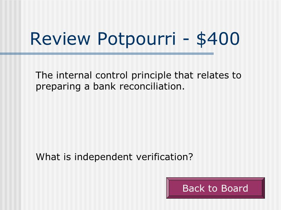 Review Potpourri - $300 Back to Board This expression describes reductions in the cost of inventory purchases associated with unsatisfactory goods. Wh