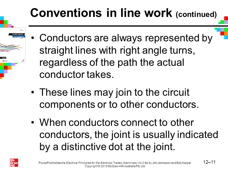12–11 PowerPoint slides t/a Electrical Principles for the Electrical Trades (Machines) Vol 2 6e by Jim Jenneson and Bob Harper Copyright © 2012 McGraw