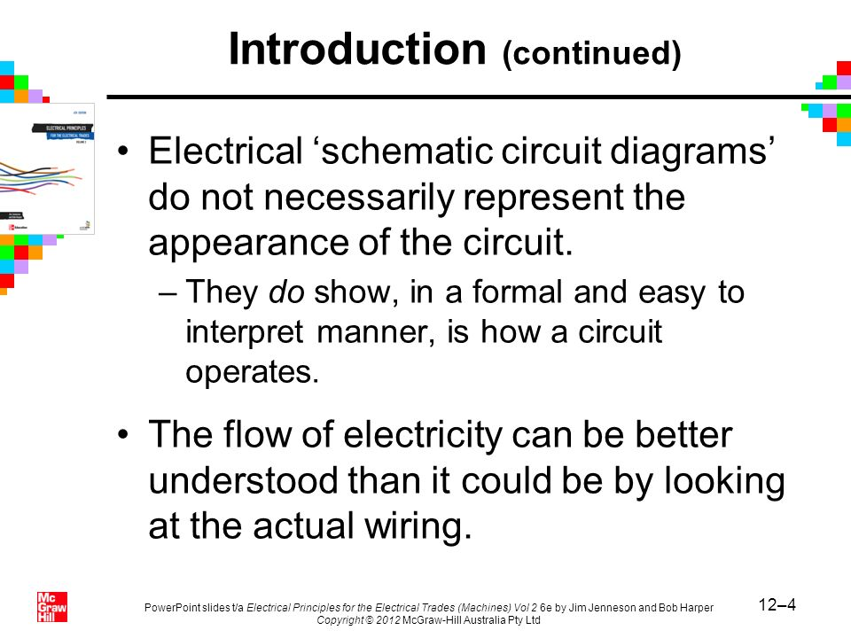 12–4 PowerPoint slides t/a Electrical Principles for the Electrical Trades (Machines) Vol 2 6e by Jim Jenneson and Bob Harper Copyright © 2012 McGraw-