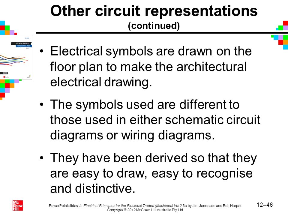 12–46 PowerPoint slides t/a Electrical Principles for the Electrical Trades (Machines) Vol 2 6e by Jim Jenneson and Bob Harper Copyright © 2012 McGraw