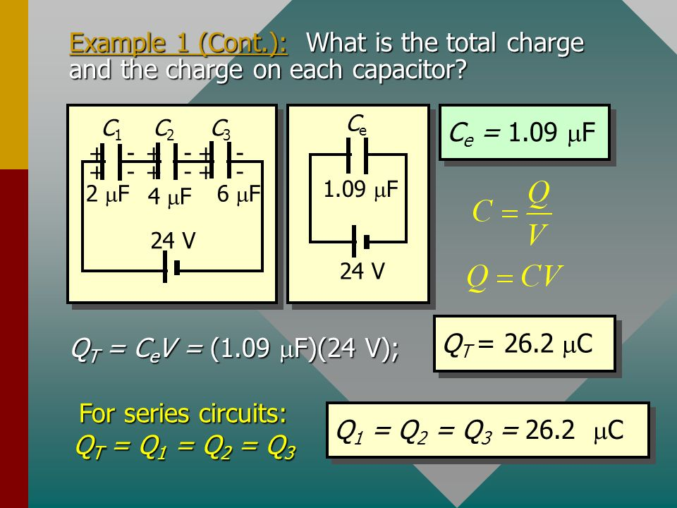 Example 1 (Cont.): The equivalent circuit can be shown as follows with single C e.