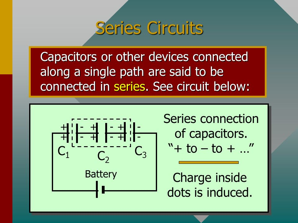 Electrical Circuit Symbols Electrical circuits often contain two or more capacitors grouped together and attached to an energy source, such as a batte