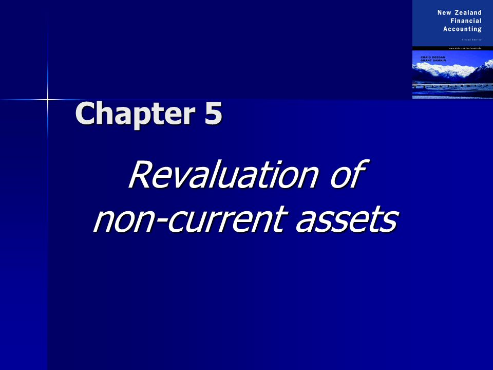 Chapter 5 Revaluation of non-current assets
