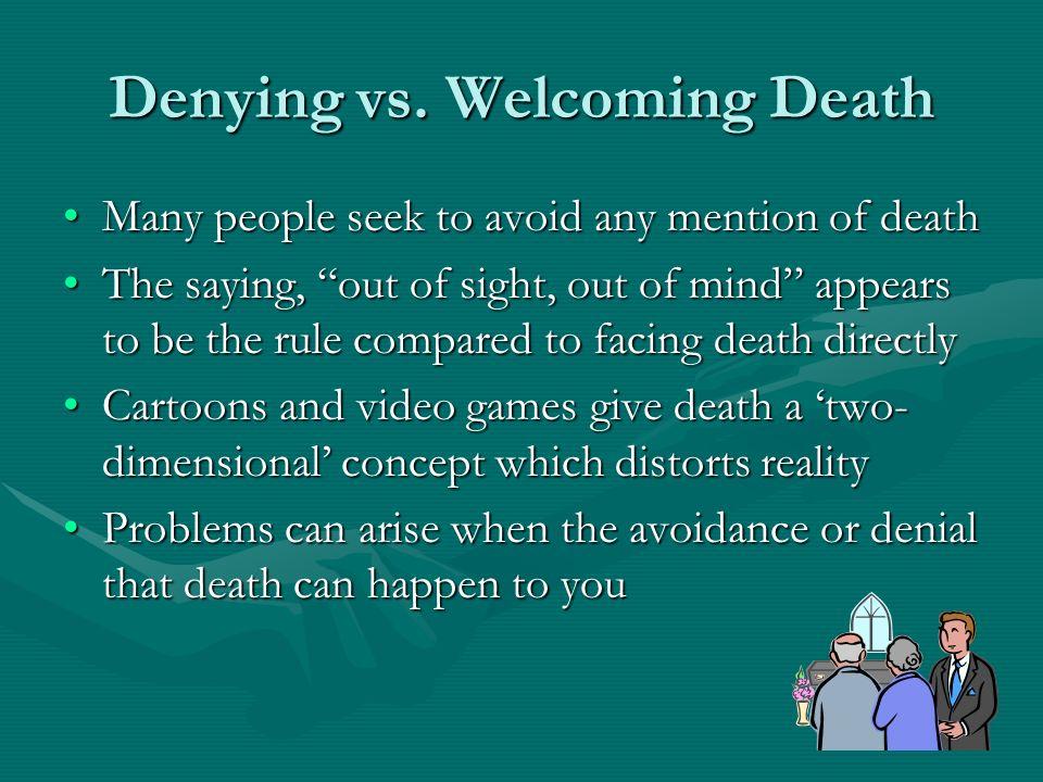 Denying vs.