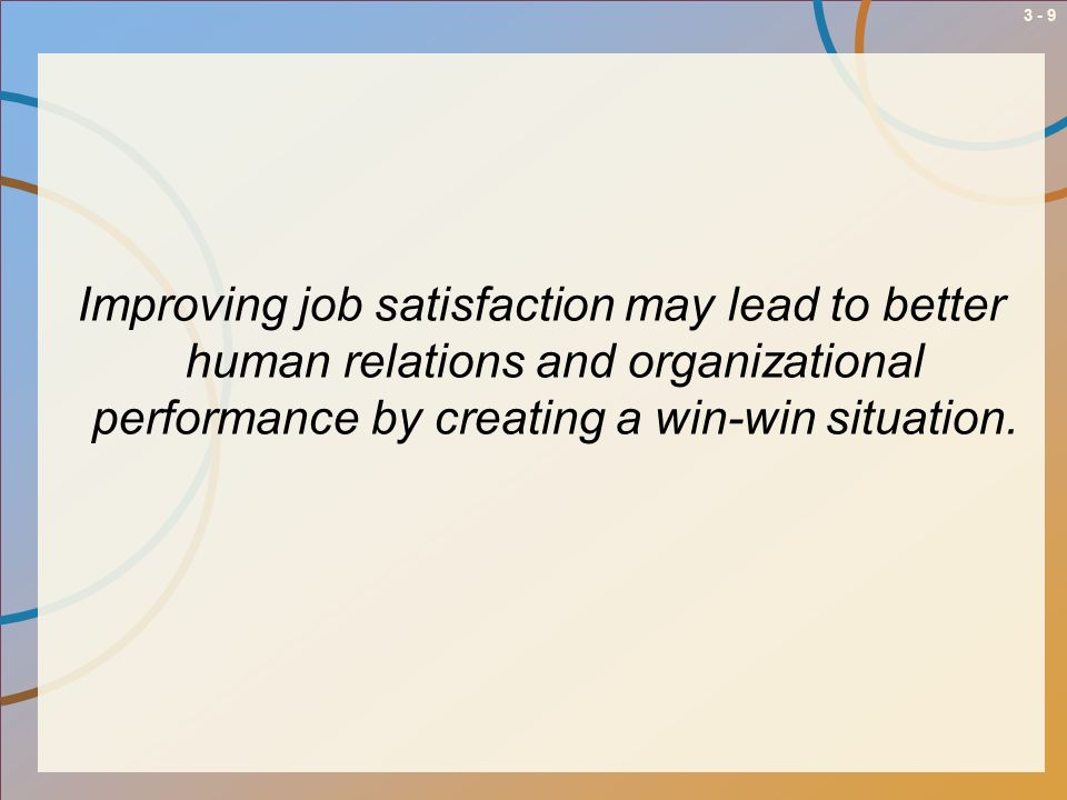 3 - 10 Determinants of Job Satisfaction 4.Supervision 5.