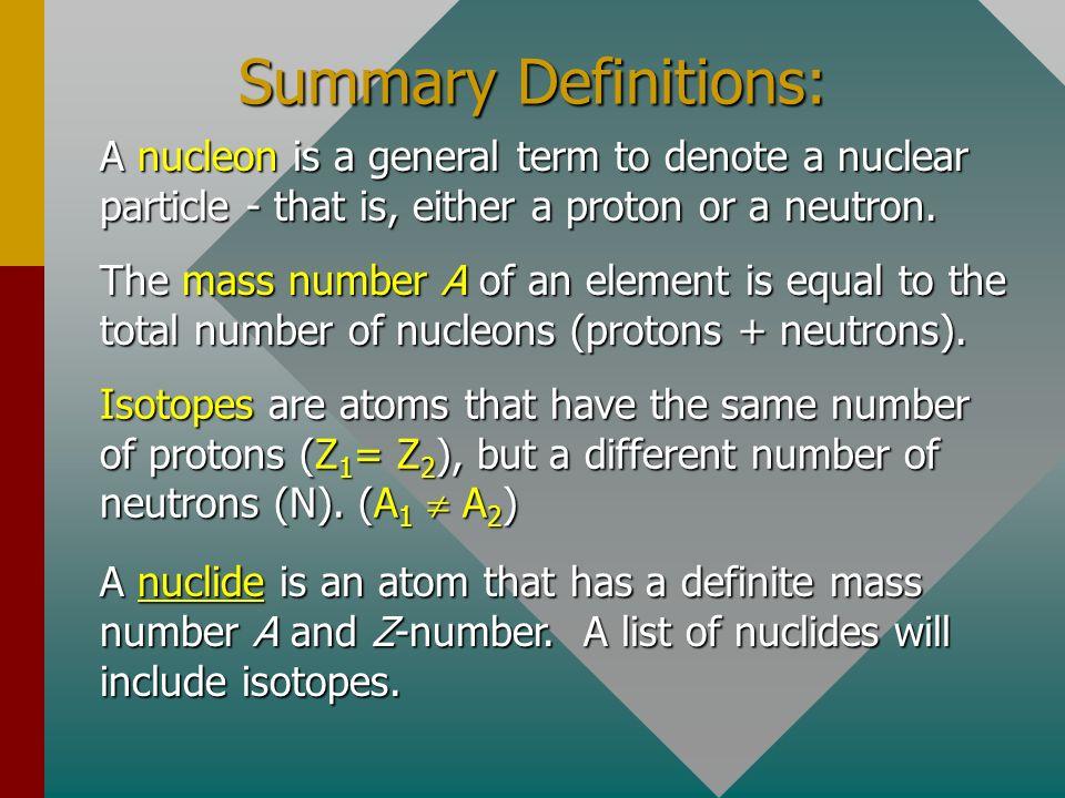 Summary ParticleFig.SymMassChargeSize Electron e 9.11 x 10 -31 kg -1.6 x 10 -19 C Electron e 9.11 x 10 -31 kg -1.6 x 10 -19 C Proton p 1.673 x 10 -27