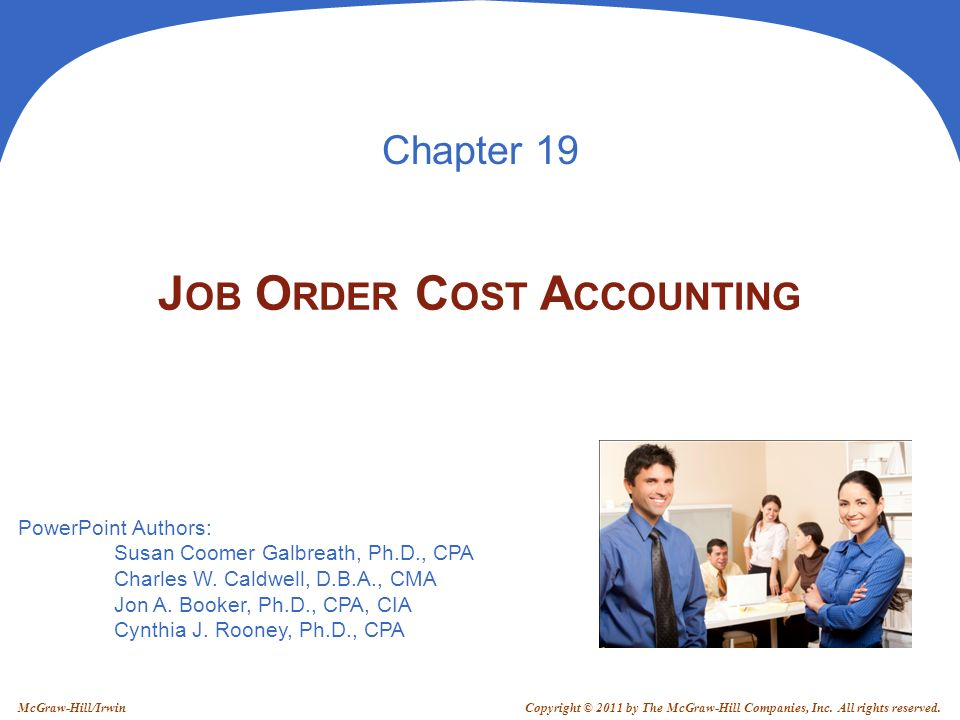 PowerPoint Authors: Susan Coomer Galbreath, Ph.D., CPA Charles W.