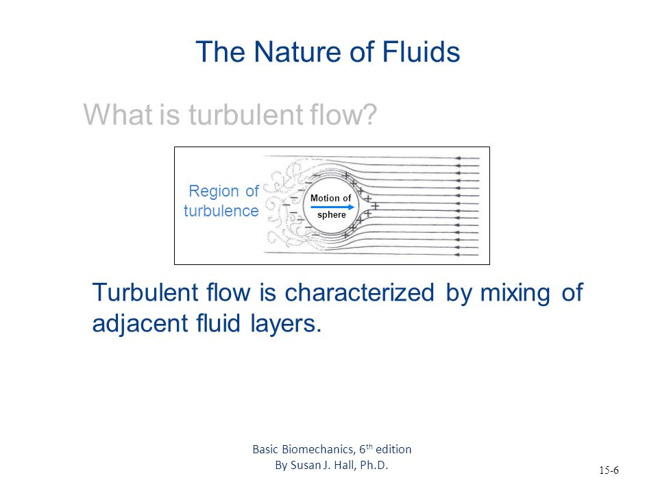15-7 The Nature of Fluids What are relevant fluid properties.