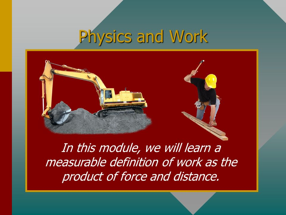 Chapter 8A. Work A PowerPoint Presentation by Paul E. Tippens, Professor of Physics Southern Polytechnic State University A PowerPoint Presentation by