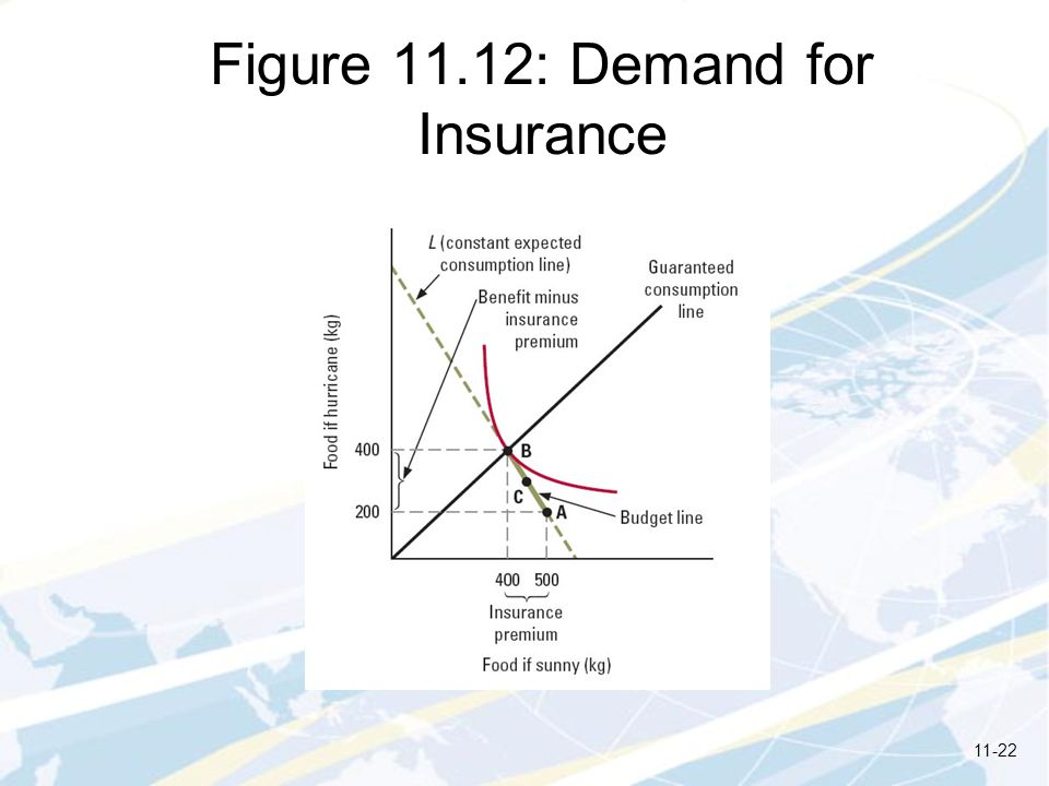 Figure 11.12: Demand for Insurance 11-22