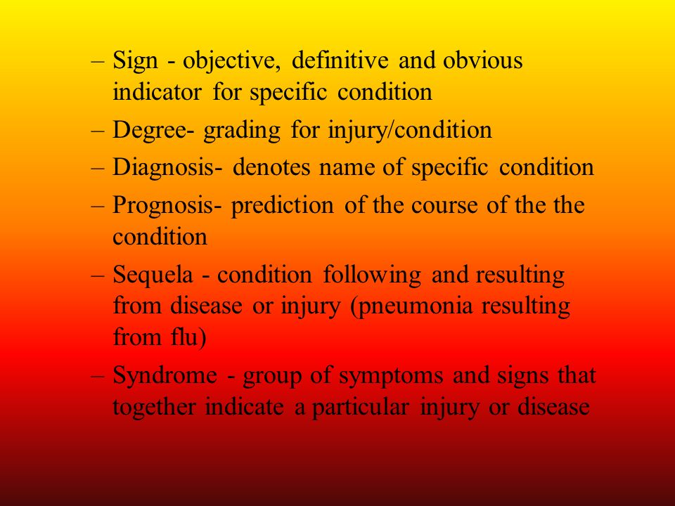 Ability to move through range or offer resistance is subjectively graded by ATC according to various classification systems –Neurological Examination Test 5 major areas (cerebral, cranial nerve, cerebellar, sensory functioning, reflex testing and referred pain) Most musculoskeletal injuries do not require cranial, cerebral or cerebellar assessment and exam can focus on peripheral neurological functioning Cerebral functioning –Questions assess general affect, consciousness, intellectual performance, emotional status, sensory interpretation, thought content, and language skills Cranial Nerve function –Quality assessed through assessments of smell, eye tracking, facial expressions, biting down, balance, swallowing, tongue protrusion, and shoulder shrug