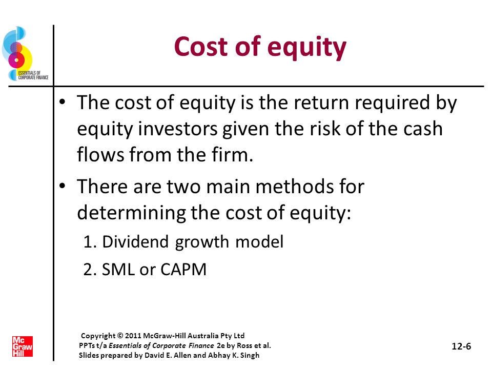 WACC IIIExtended example What are the capital structure weights.