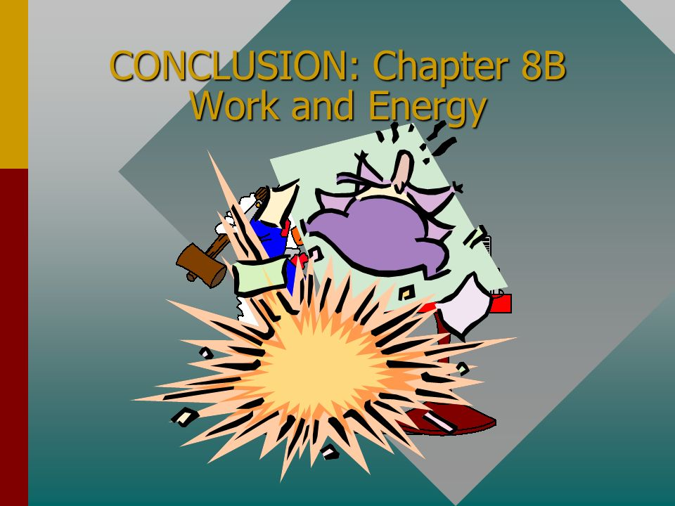Summary (Cont.) Power is defined as the rate at which work is done: (P = dW/dt ) Power of 1 W is work done at rate of 1 J/s P= F v