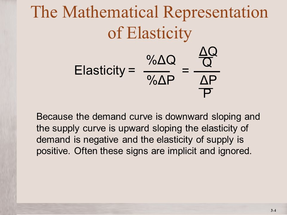 3-15 Elasticity and the Demand Curve How the Elasticity of Demand Affects Reactions to Price Changes