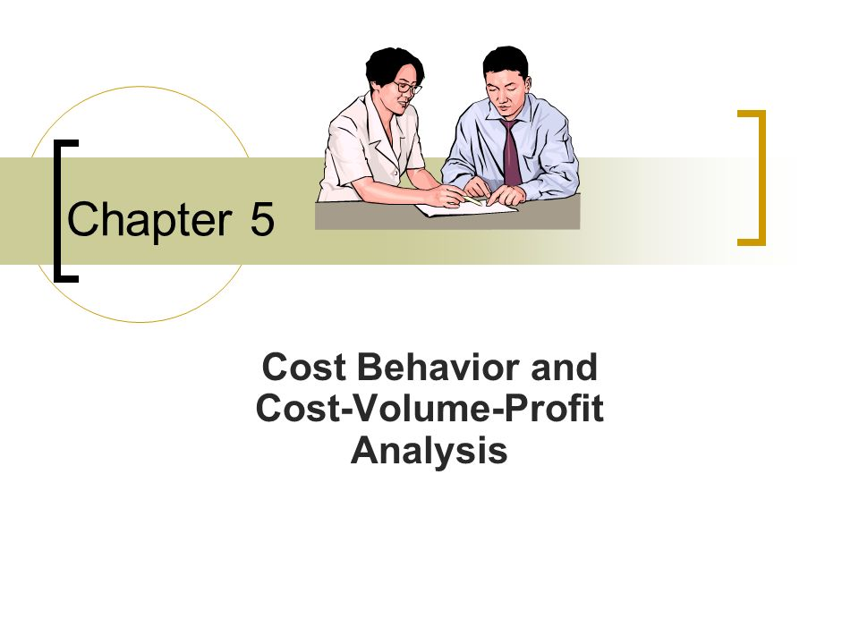 Conceptual Learning Objectives C1: Describe different types of cost behavior in relation to production and sales volume.