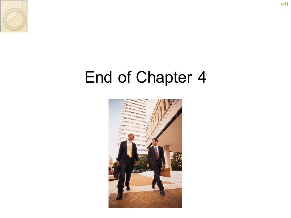 4-1111 End of Chapter 4