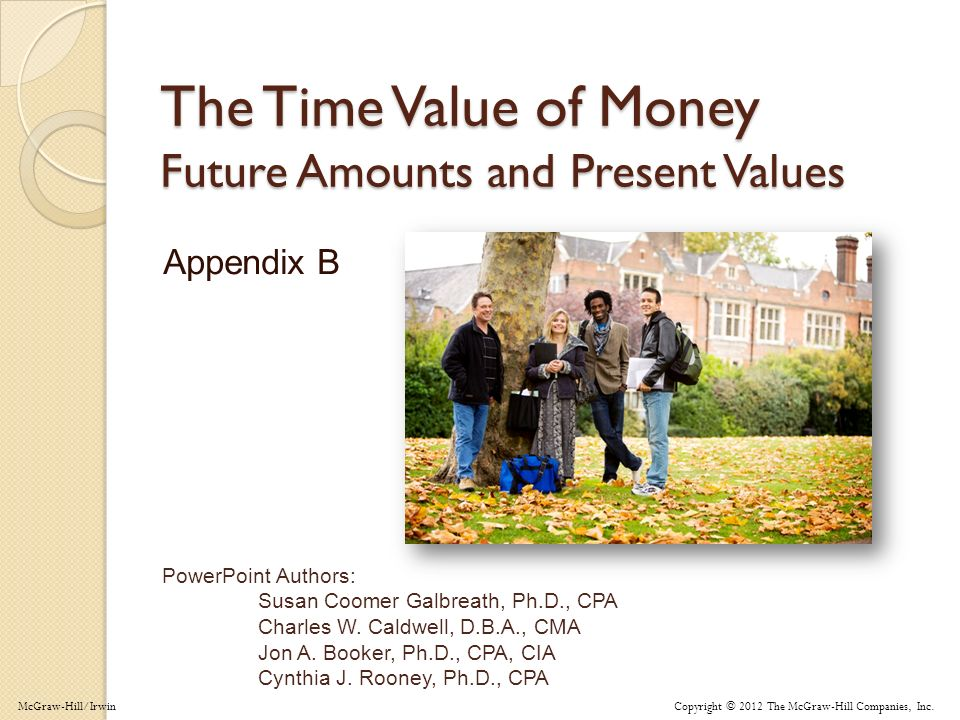 App B-12 Using Present Value Tables What would you pay today for the opportunity to receive $680 in 4 years, assuming an 8% interest rate.
