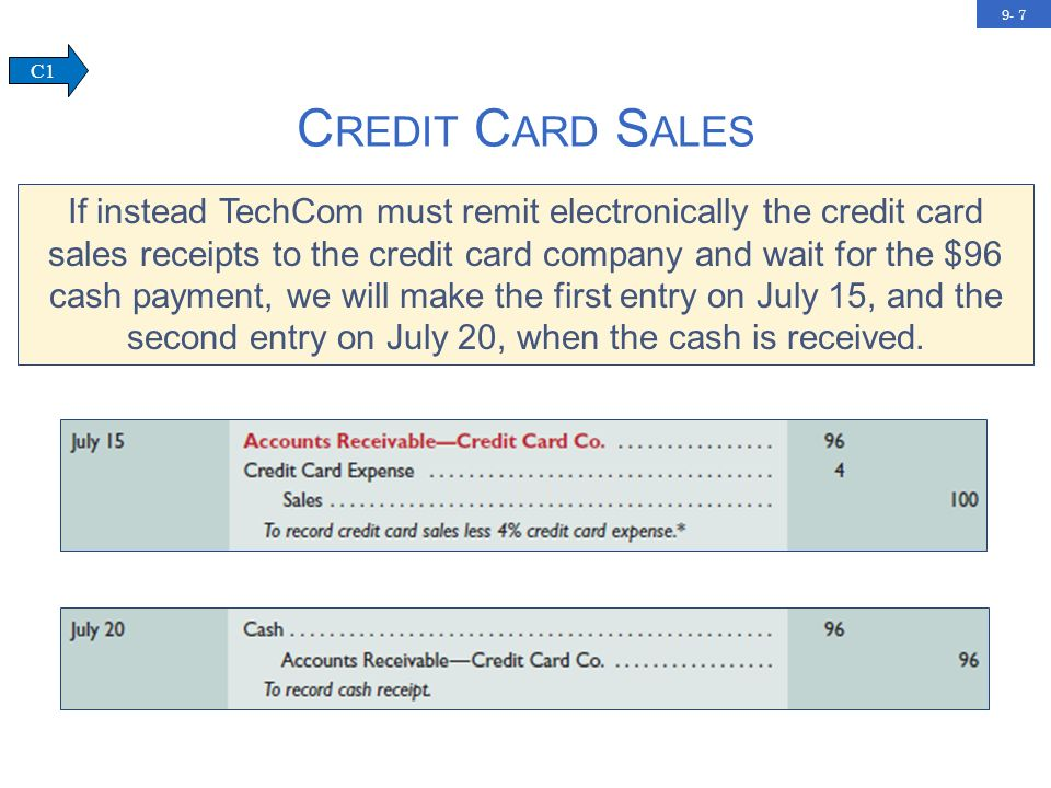 9- 8 Amounts owed by customers from credit sales for which payment is required in periodic amounts over an extended time period.