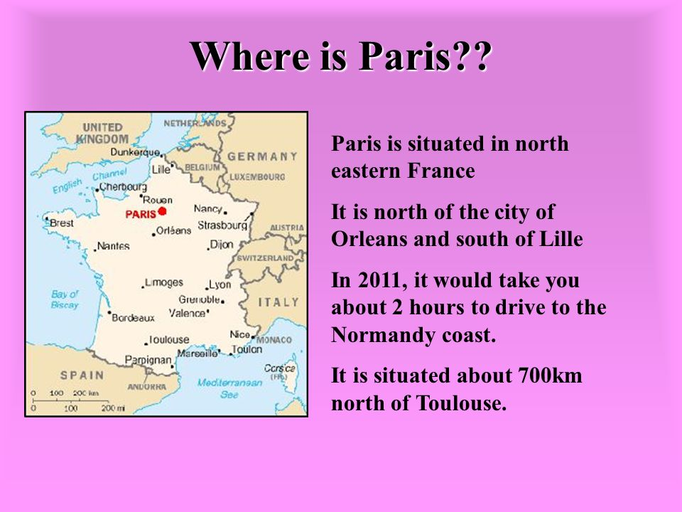 Where is Paris .
