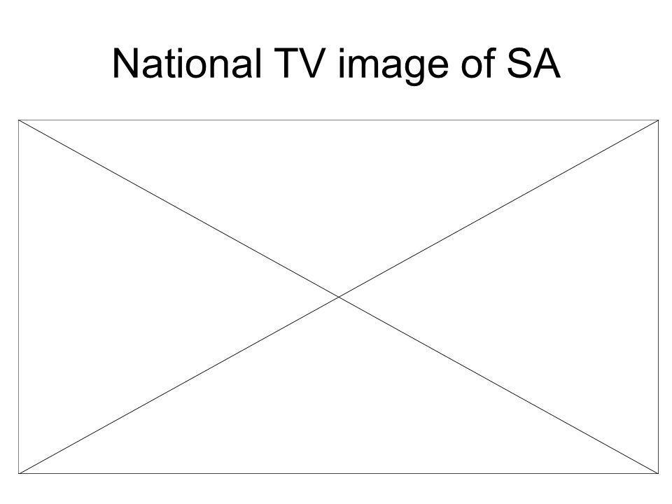 National TV image of SA