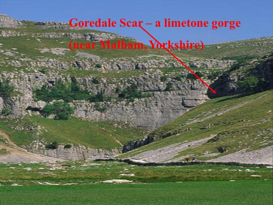 Goredale Scar – a limetone gorge (near Malham, Yorkshire)