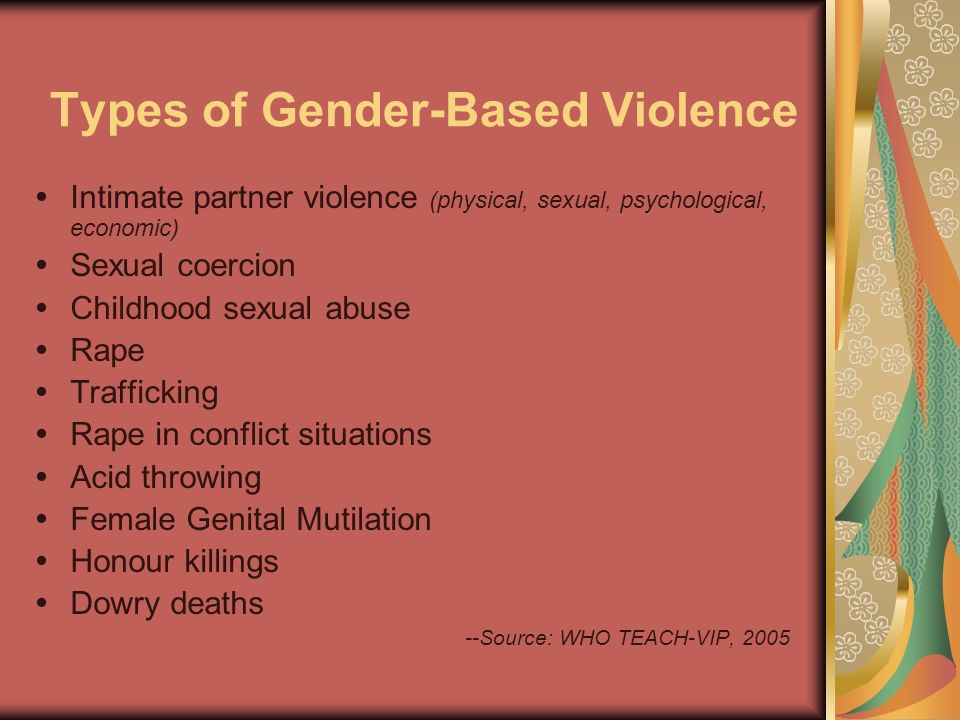 Section II: Costs of GBV The health, social and economic toll