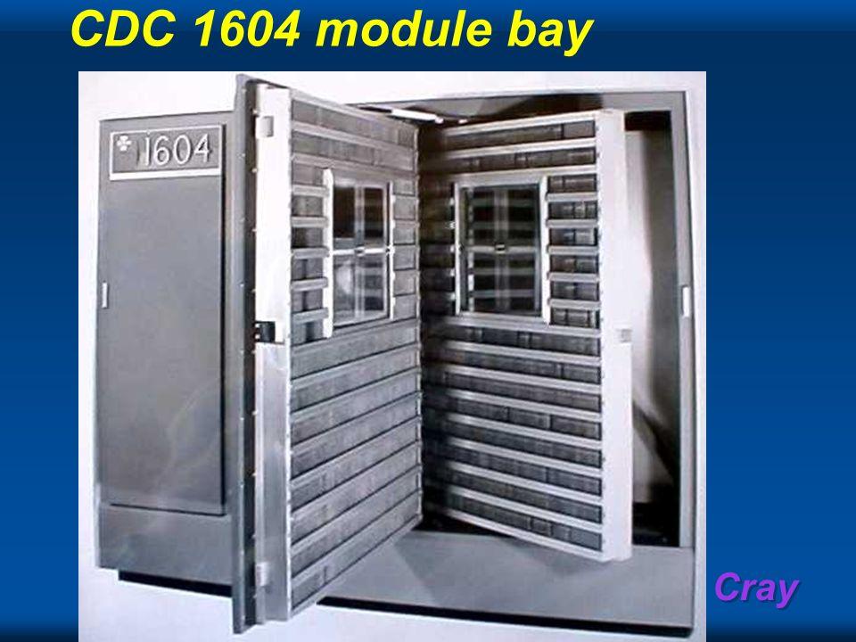 Cray CDC 1604 module bay