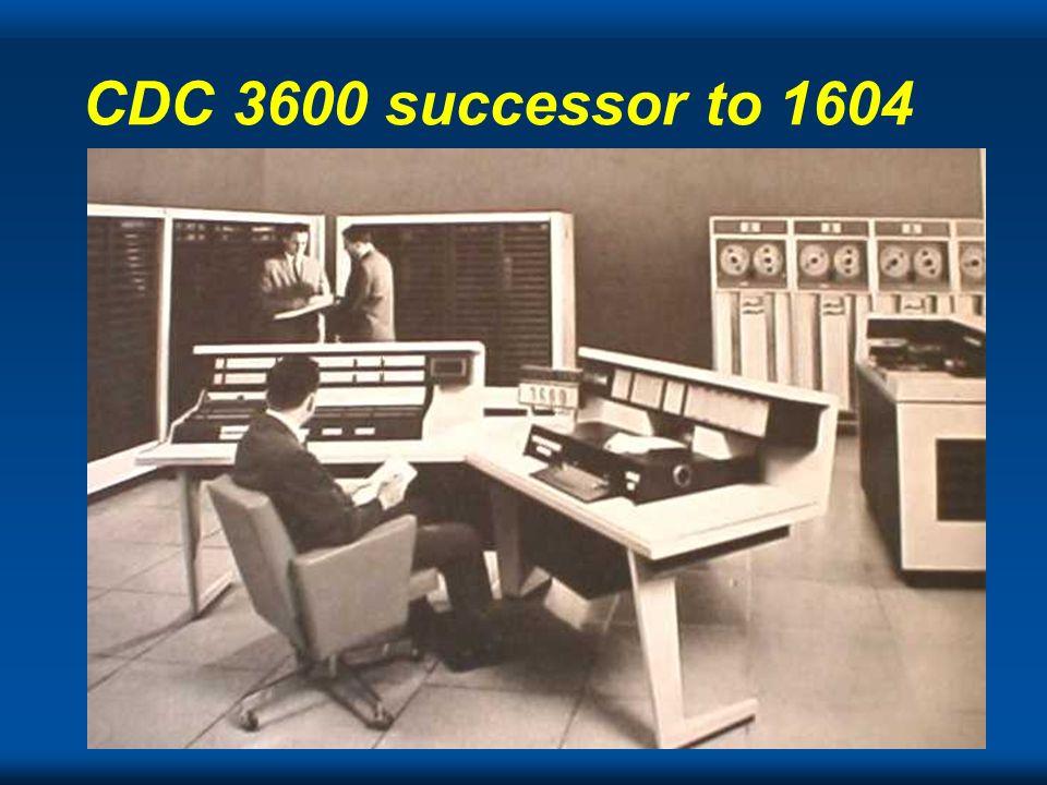 Cray CDC 3600 successor to 1604