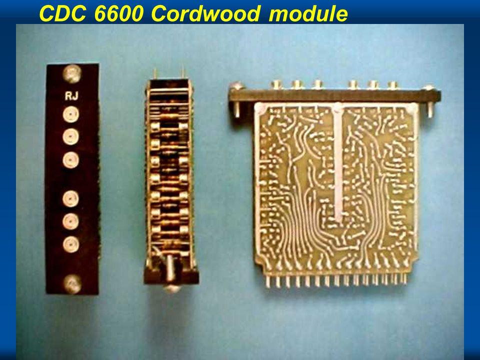 Cray CDC 6600 Cordwood module