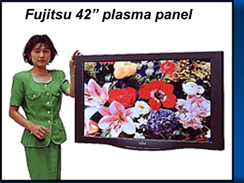 The Tech Fujitsu 42 plasma panel