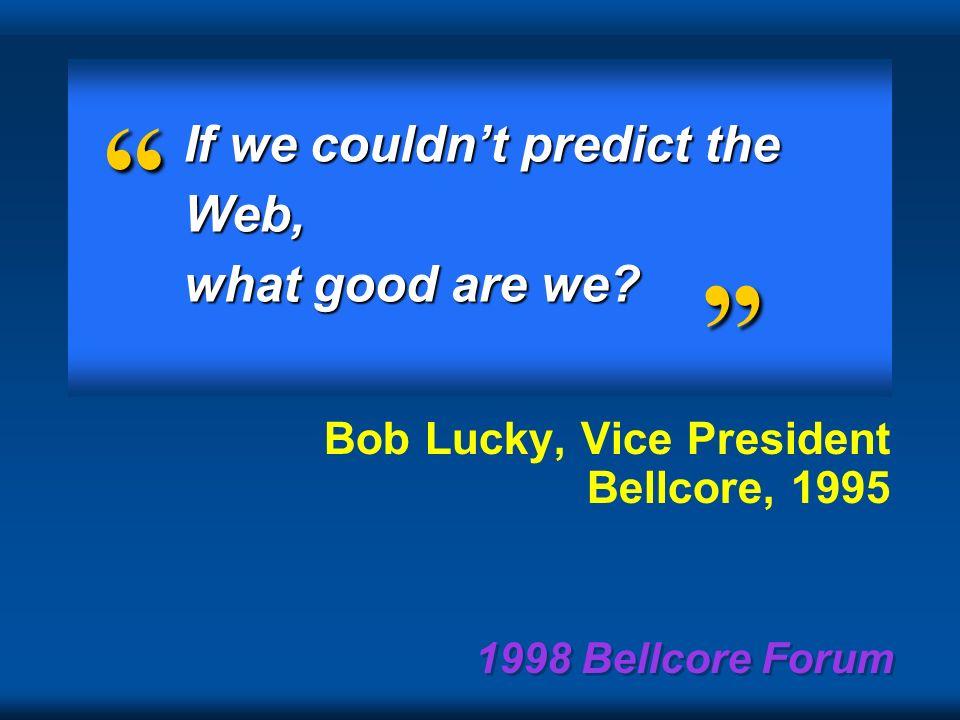 1998 Bellcore Forum Capac.