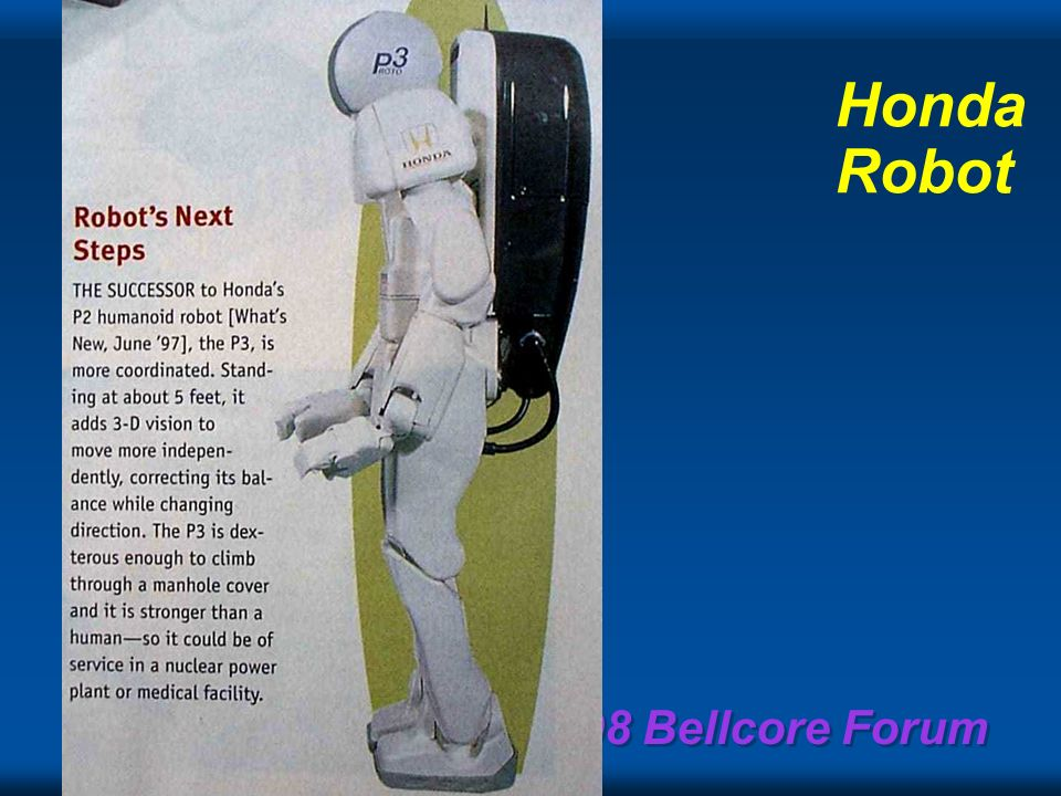 1998 Bellcore Forum Mobile videophone