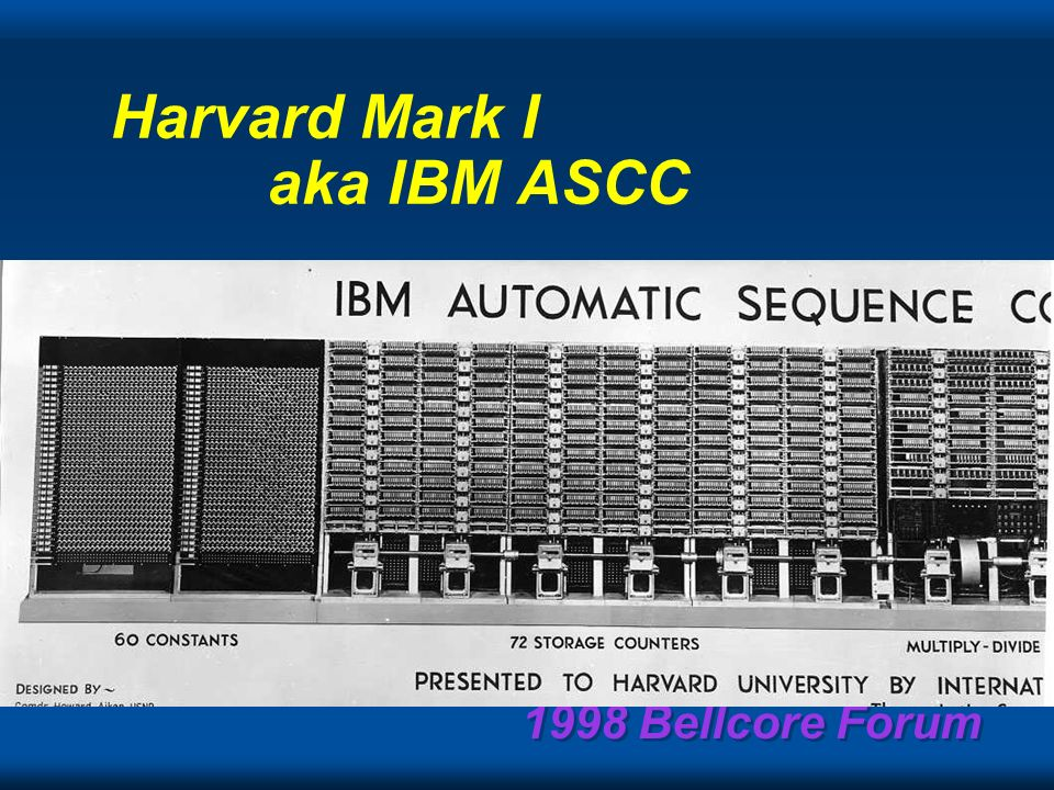 1998 Bellcore Forum I think there is a world market for maybe five computers. Thomas Watson Senior, Chairman of IBM, 1943