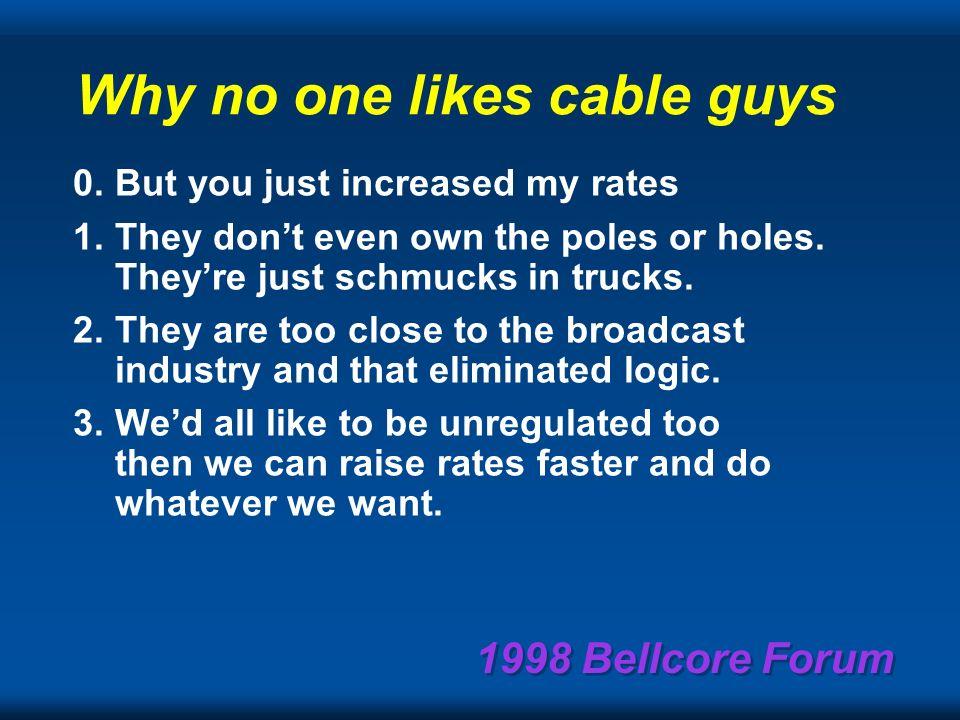 1998 Bellcore Forum