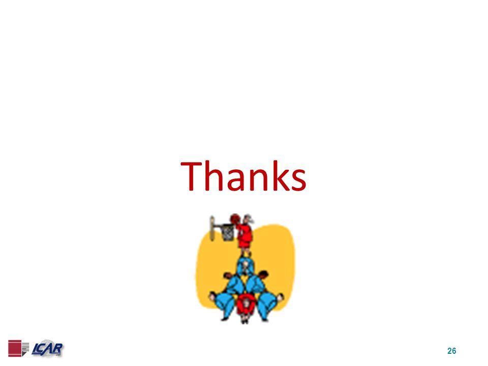 26 Thanks