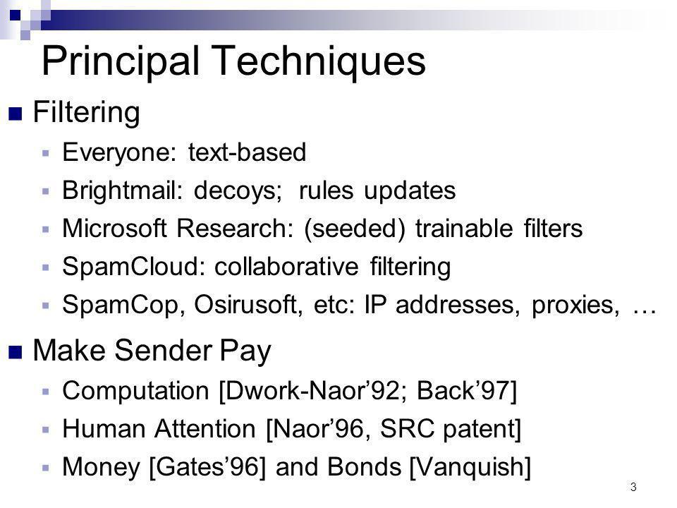 24 Memory-Bound Functions [ABMW02] Devilish model.