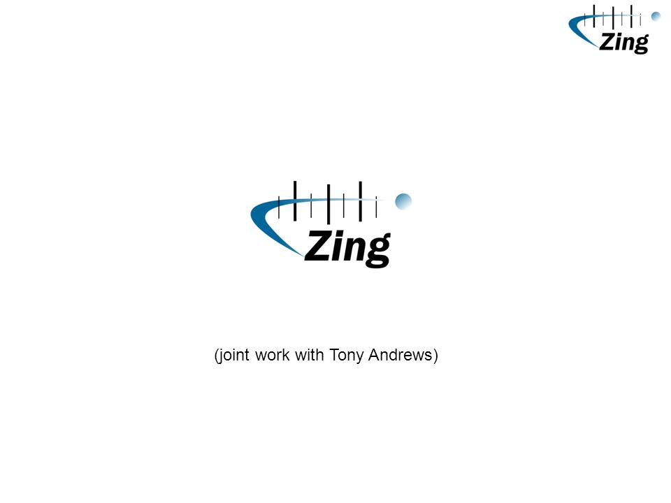(joint work with Tony Andrews)