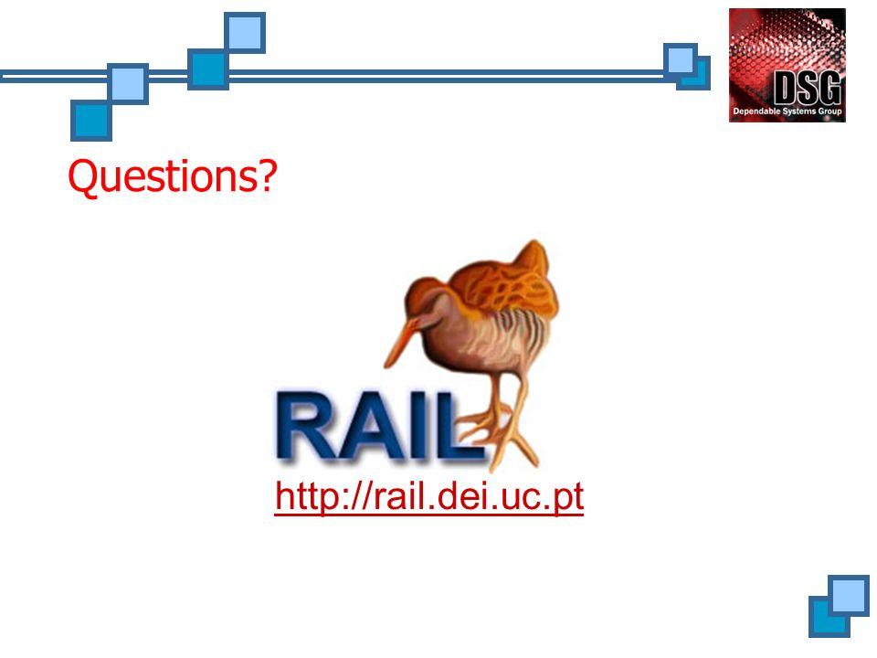 Questions? http://rail.dei.uc.pt
