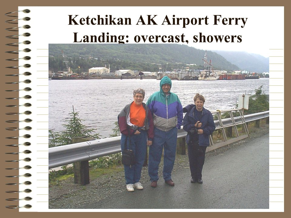 Ketchikan: T-shirts, molded bears, foxes and eagles, cruise ships, boats, seaplanes and many tourists