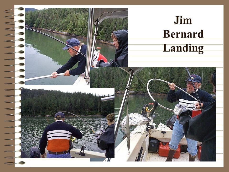Jim Bernard Landing
