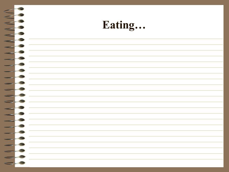 Eating…