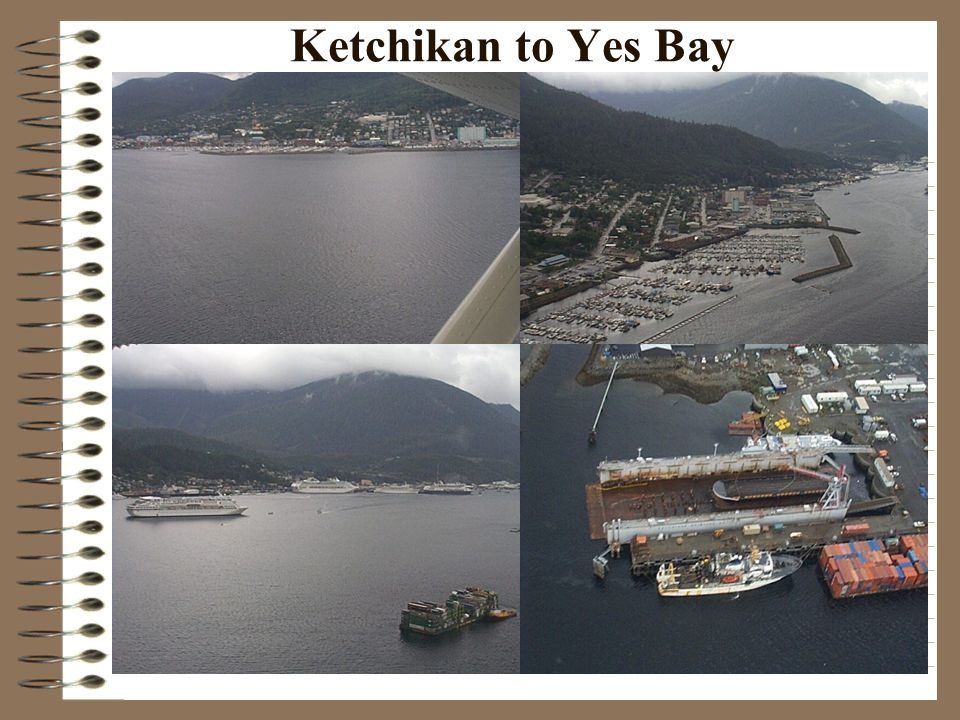 Ketchikan to Yes Bay