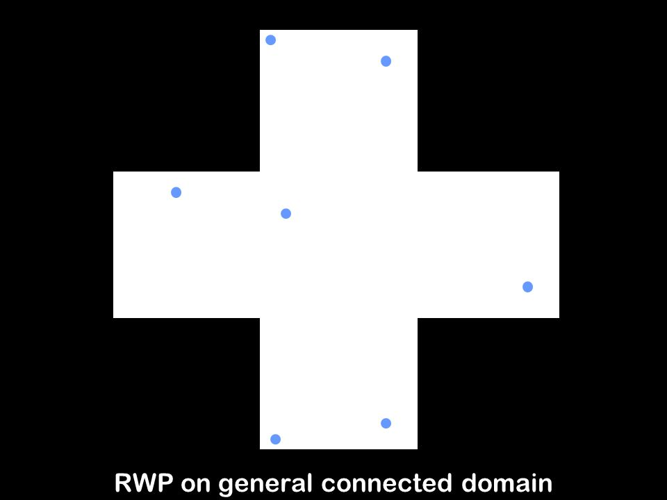 4 RWP on general connected domain