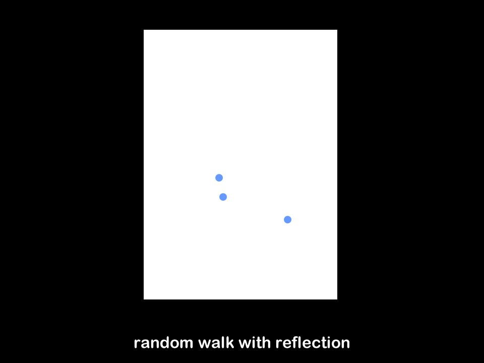 30 Perfect sampling for random walk models By definition, for RWP models, we know distributions of the mobility state at trip transition instants For random walk models we need first to find these distributions Theorems: For random walk with wrapping, if M 0 is uniformly distributed on the domain A, so is M n for any n>0.